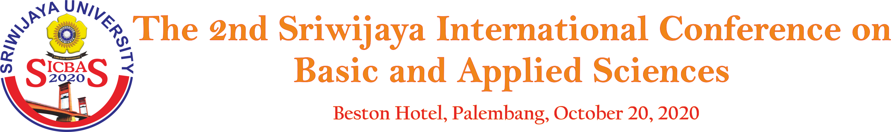 THE 2ND SRIWIJAYA INTERNATIONAL CONFERENCE ON BASIC AND APPLIED SCIENCES